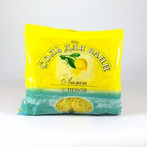 Сіль з піною Лимон