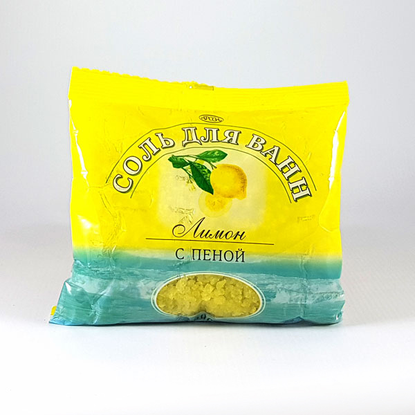 Соль с пеной Лимон