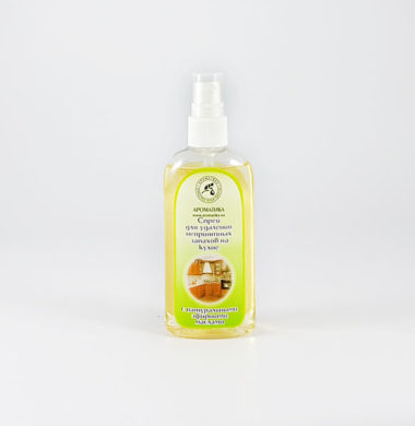 Аромаспрей против неприятного запаха на кухне «Ваниль-лимон»