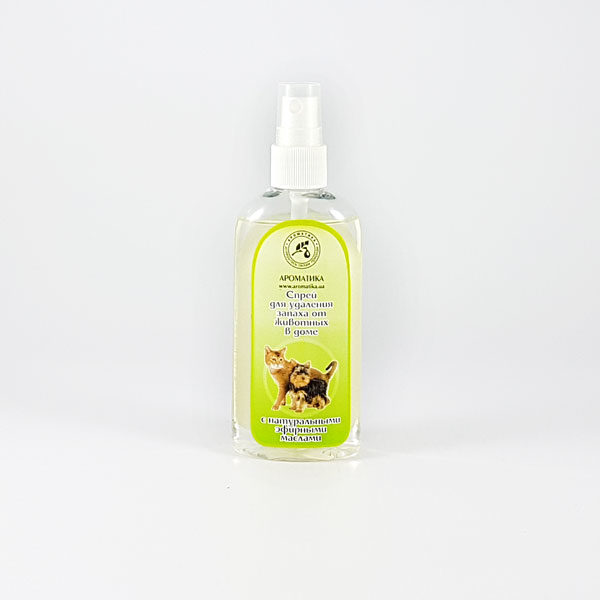 "Аромаспрей против запаха животных в доме ""Чайное д-во-лимон"""