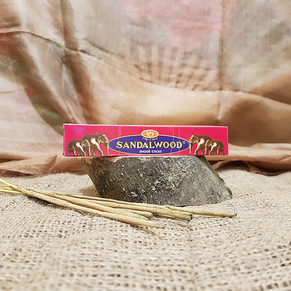 Sandalwood Dhoop Sticks Bic  (10 стиков)   L 12см