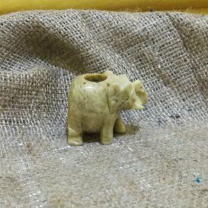 Подставка под благовония Слон камень 6х5см