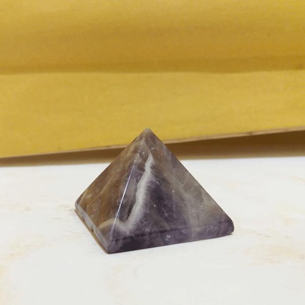 Пирамида аметист h 4см