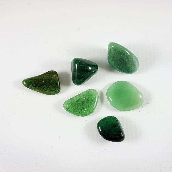Авантюрин зеленый галтовка