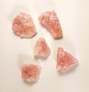 Розовый кварц кристалл