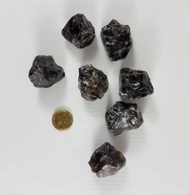 Дымчатый кварц камень с отверстием