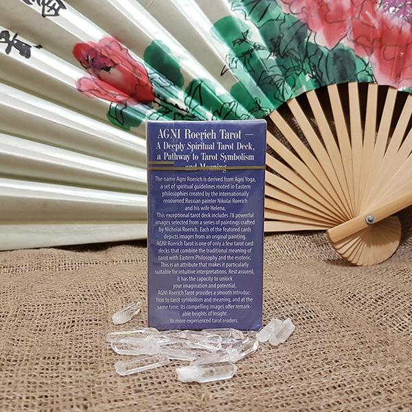AGNI Roerich Tarot  DELUX   6,5х11,9  английский язык