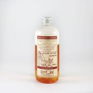 Піна крем чуттєвість іланг ваніль