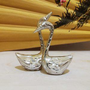 Лебеді пара / срібло / 80 * 4 0* h150мм