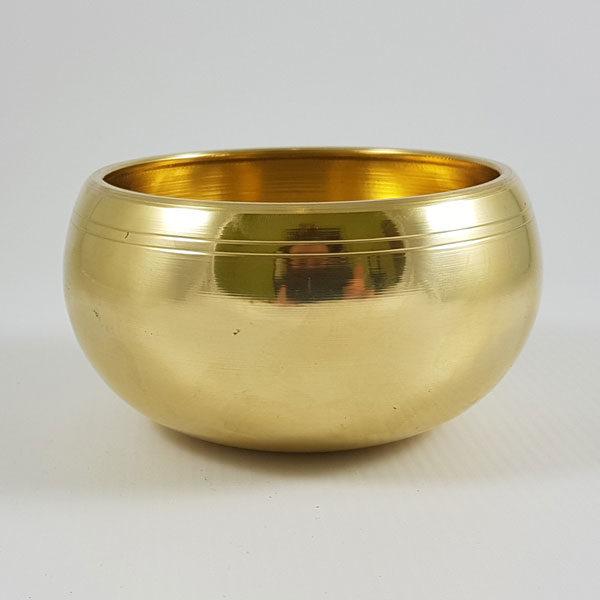 Чаша поющая желтая
