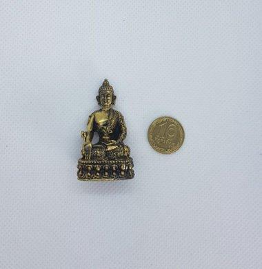 Будда бронза h 14,5 см Индия