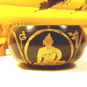 Чаша поющая 4 будды ваджр d 12 cм