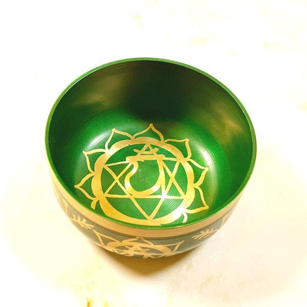 Чаша поющая по чакрам точеная d 10,5см h 5см