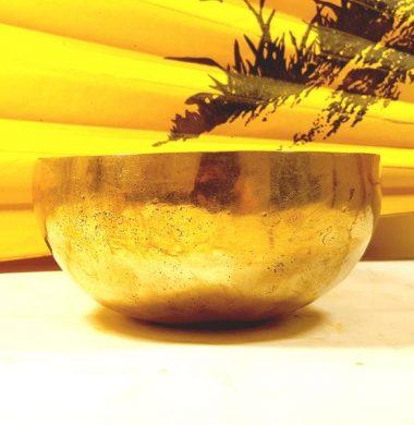 Чаша поющая бенгальская кованная d 13см, h 6,5см