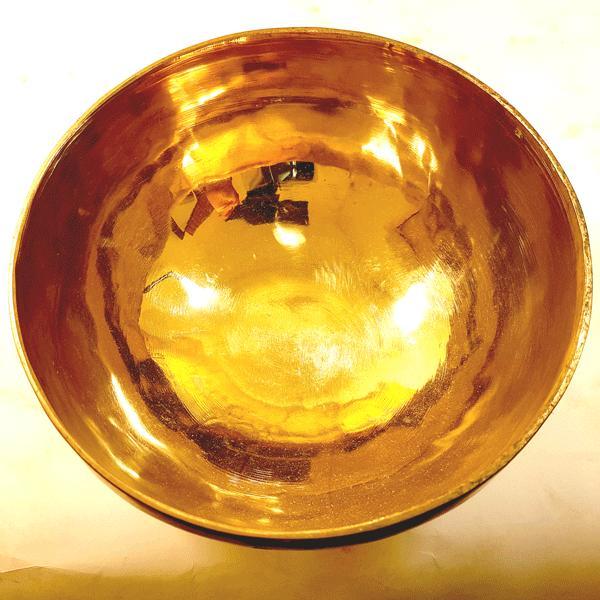 Чаша поющая бенгальская кованная d 23см, h 10см