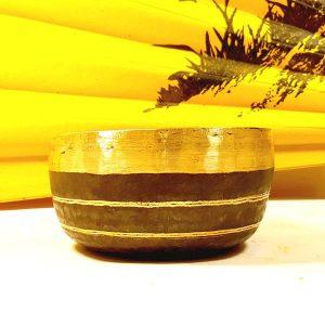 Чаша поющая бенгальская кованная d 19см, h 8см