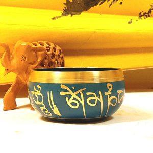 Чаша поющая точеная Непал d 12,5см h 6,5см