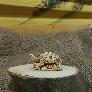 Черепаха на монетах/4х2,5 см, h 2 см