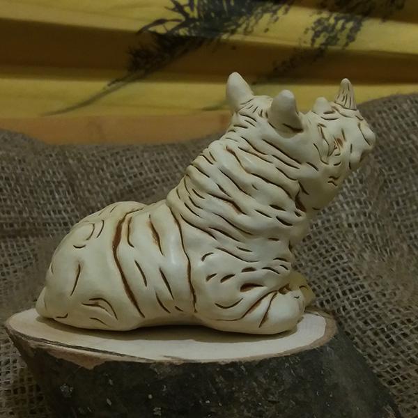 Носорог/8х5,5 см, h 8 см