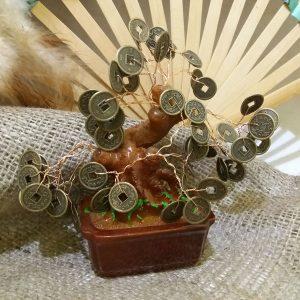 Дерево з монетами 8 см