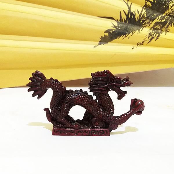 Дракон с жемчужиной каменная крошка