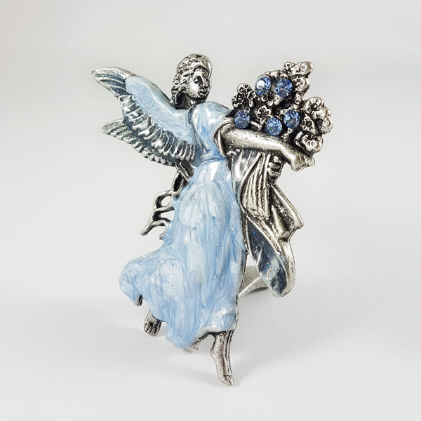 Статуэтка Ангел с букетом