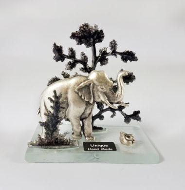 Статуэтка «Слон в лесу»/ h 7