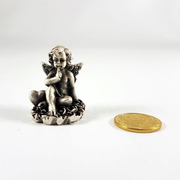 Статуетка Янголятко сидить 25 мм