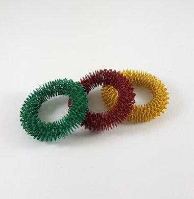 Кольца кистевые цветные