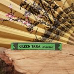 Green Tara Incense L 14см