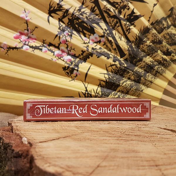 Tibetan Red Sandal wood  (Красный Сандал)  L 15см
