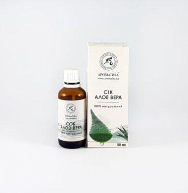 Сок натуральный «Алоэ-вера» 50 мл